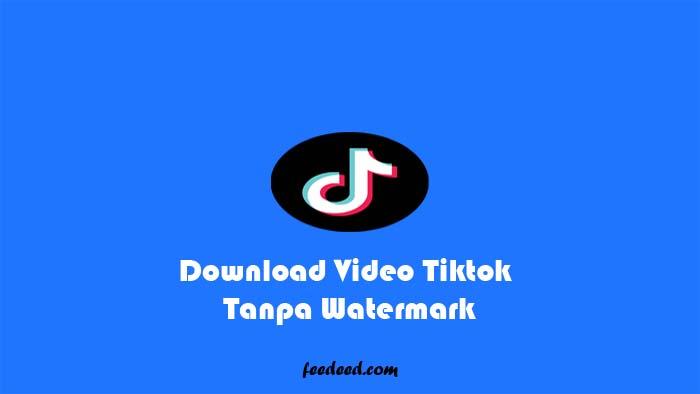 3 Cara Download Video Tiktok Tanpa Watermark Sangat Mudah