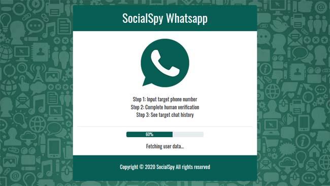 Social Spy Whatsapp, Tool Sadap WA Online Terbaru 2020