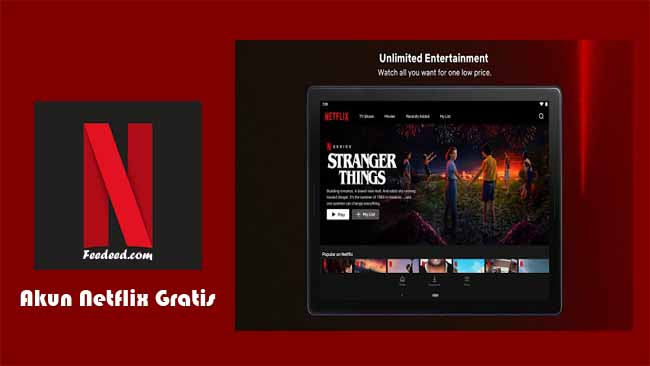 50+ Akun Netflix Premium Gratis Masih Aktif Terbaru Desember 2020
