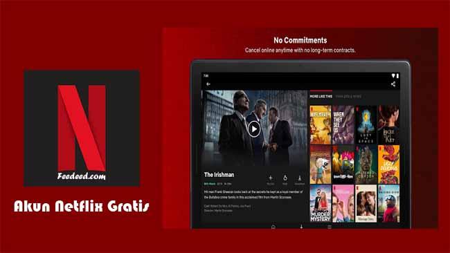 50 Akun Netflix Premium Gratis Masih Aktif Terbaru Januari 2021