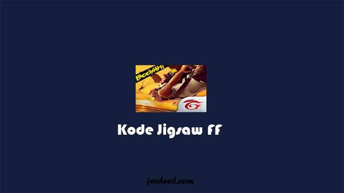 Kode Jigsaw FF Terbaru & Jawaban Duta Besar Chrono Free Fire