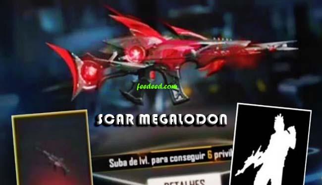 Scar Megalodon FF Terbaru, Begini Cara Mendapatkanya (Gratis)