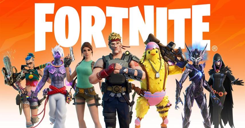 Game online terbaik di dunia - Fortnite