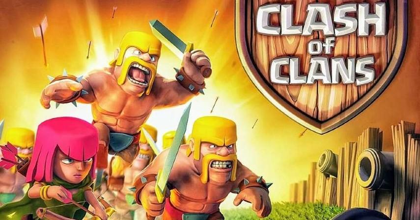 Game online terbaik di dunia - Clash Of Clans