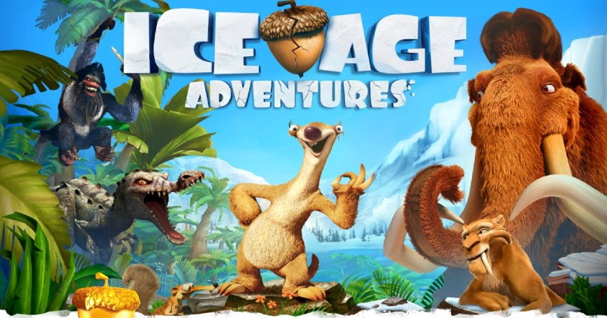 Game petualangan android - Ice age adventure