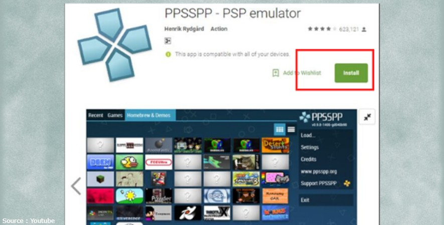 Game PPSSPP